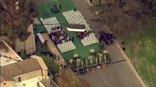 ∞♠† The Michael Jackson Funeral - Part 1 - Forest Lawn †♠∞