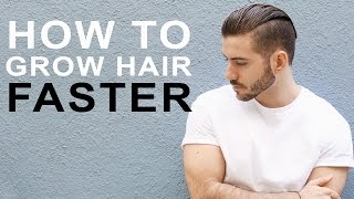 One of Alex Costa's most viewed videos: HOW TO GROW HAIR FASTER & LONGER | Tips to grow men's hair