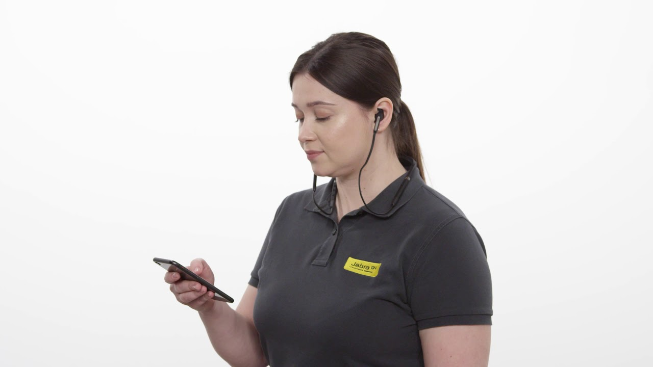 How To Pair Your Jabra Elite 65e With A Smartphone Youtube