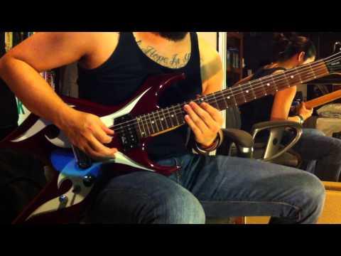 "The Rock ""Electrifying"" WWE theme guitar cover"