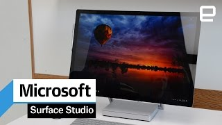 Microsoft Surface Studio: Hands-On