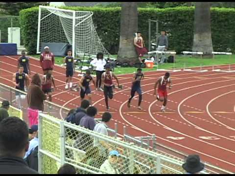 Dominic Davis Varsity Boys 100m Alemany vs Notre Dame