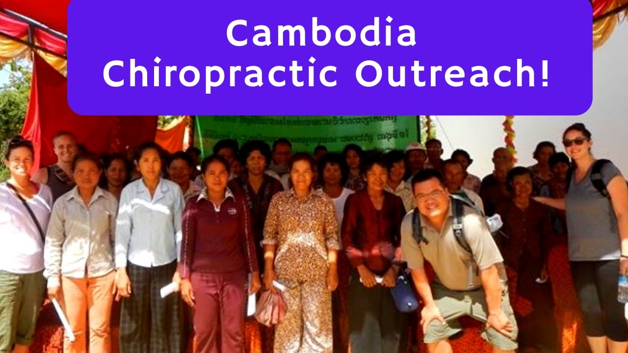 Fort Bonifacio Chiropractor Provides Charitable Chiropractic Care Through His Non-Profit in Cambodia