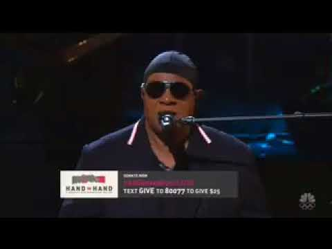 Stevie Wonder Mocks Climate Change Deniers During 'Hand In Hand' Telethon