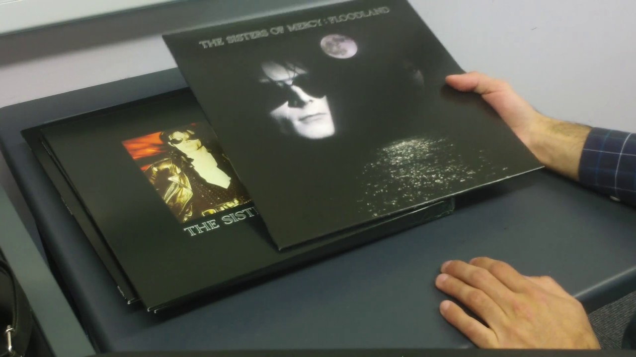 Sisters Of Mercy Floodland Vinyl Box Set Youtube