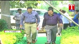 Live Report | TS All Districts Collectors Visits Banda Narsampally | Siddipet Dist | TNews