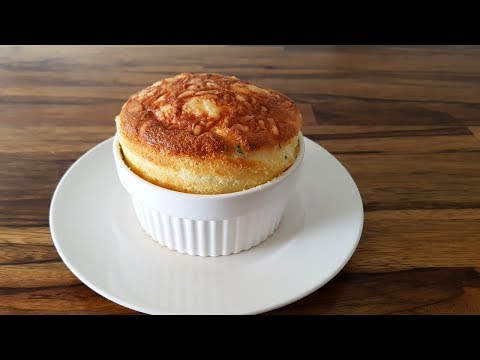 How to Make Cheese Soufflé