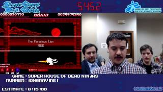 Super House of Dead Ninjas - SPEED RUN (0:10:00) [PC] *Live at #SGDQ 2013*