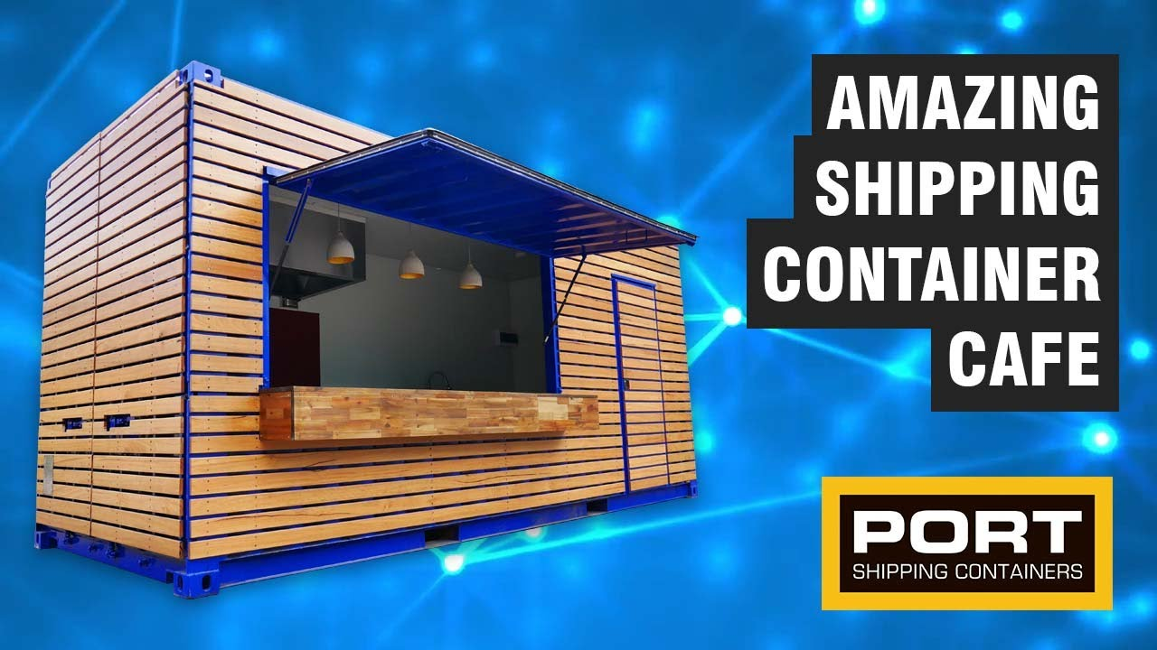 Shipping Container Cafe | Shipping Container Pop Up Cafe