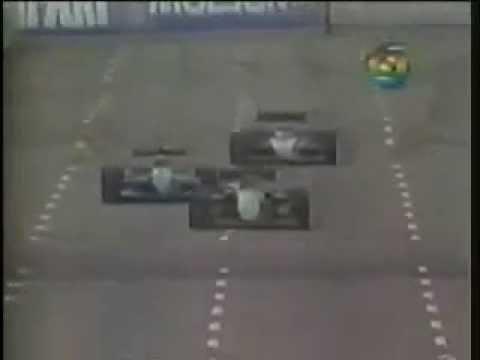 AYRTON SENNA - Duelo com Jean Alesi - GP EUA 1990 -  Melhores Momentos F1