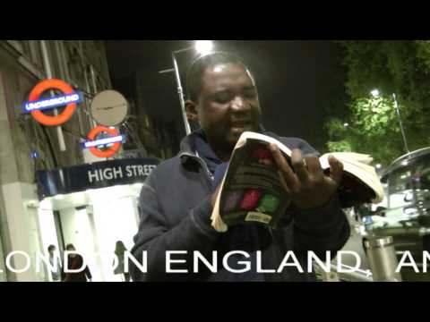 Saved from Burning Furnace. Daniel 3. London SW7, Andy Lumeh Evangelist