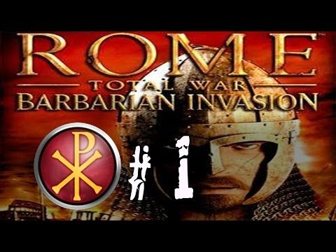 Rome Total War Barbarian Invasion - Western Roman Empire - Part 1