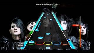 Rizki : Rebel Love Song - Black Veil Brides 100% FC Guitar Flash Expert