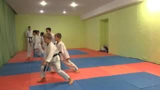 Федя сдает экзамен на синий пояс по каратэ-до (декабрь - 2015)(Этот ролик обработан в Видеоредакторе YouTube (https://www.youtube.com/editor), 2015-12-19T12:00:59.000Z)