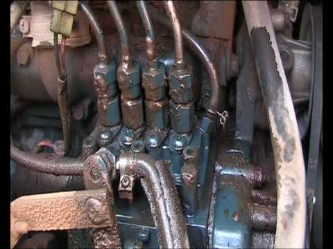 Show Me A Picture Of A Bobcat >> Leaking Kubota Injector - YouTube