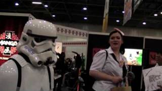 MCM Expo May 2009 as a Stormtrooper- part 1