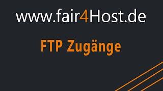 fair4Host | FTP Zugänge