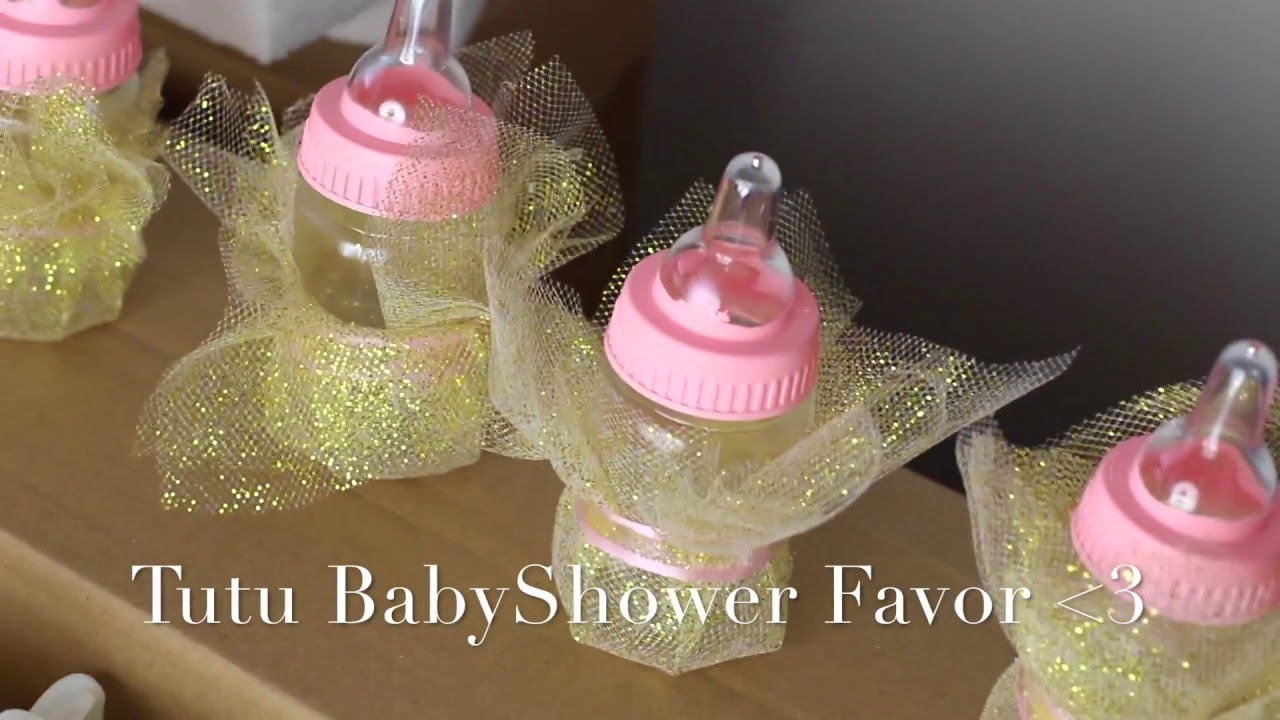babyshower favors diy for girl youtube