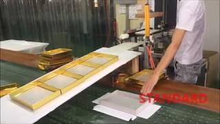 Sweets box making machine