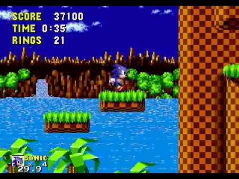Sonic the Hedgehog, megadrive (1/9)