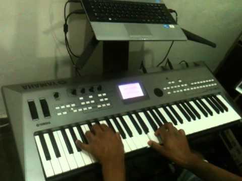 Eliel  Ferreira testando  piano berlin grand withh overtones jazz kontakt