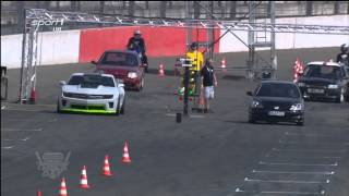Honda Civic Type-R Vs. Chevrolet Camaro 1/4-Mile @ Sport1 Trackday 2013 Lausitzring