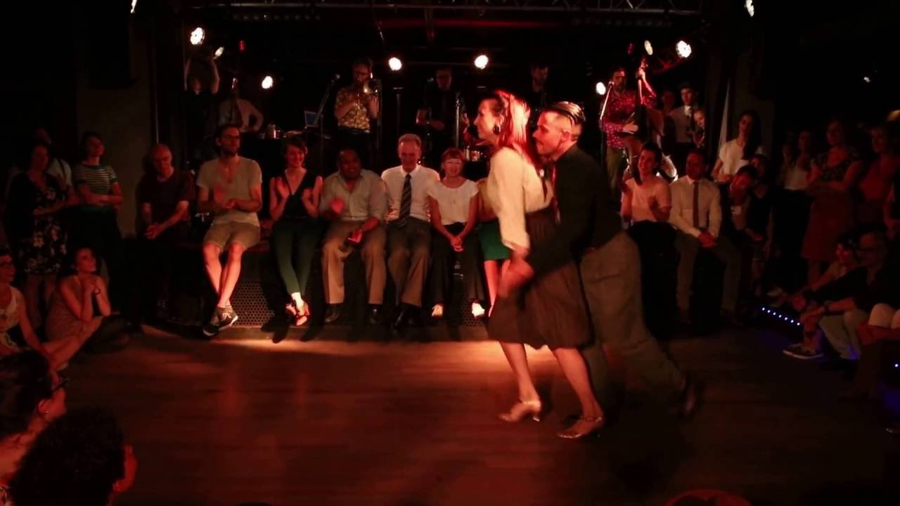 Swingin Paris 2016 - JB Mino & Tatiana Udry with Tin Pan Band