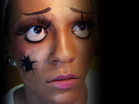 broken doll for Halloween « Makeup