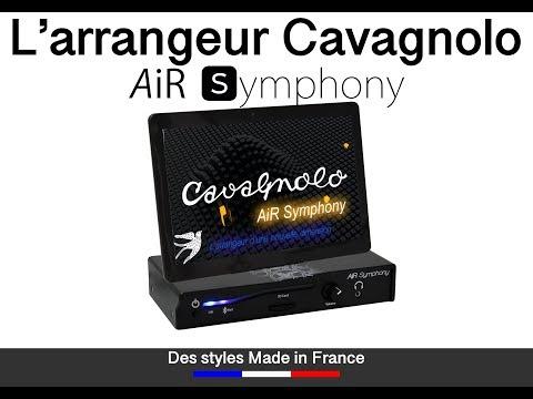 L'arrangeur CAVAGNOLO AiR Symphony