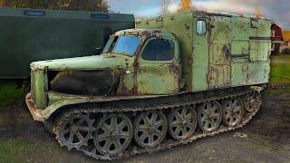 Купили Артиллерийский Тягач - Легкий 1958 года
