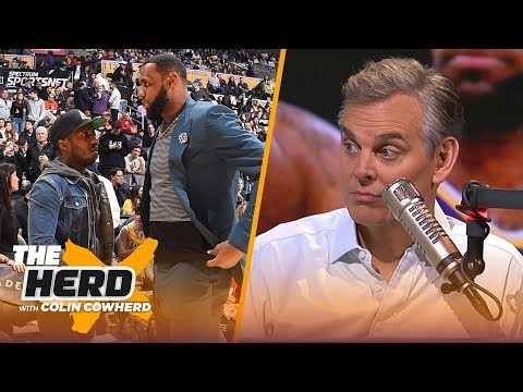 Colin Cowherd thinks LeBron James injury is causing real tension with the Lakers | NBA | THE HERD