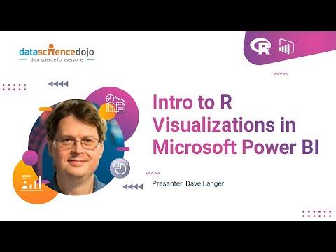 Intro to R Visualizations in Microsoft Power BI