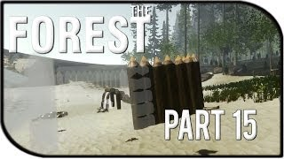 The Forest Gameplay Part 15 - Base Building!