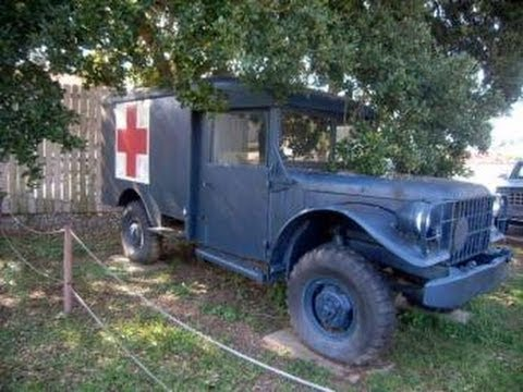 63 Power Wagon >> Vintage 1952 Dodge M43 Ambulance Truck on GovLiquidation.com - YouTube