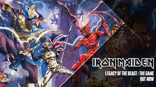 Iron Maiden   Legacy Of The Beast Game Trailer