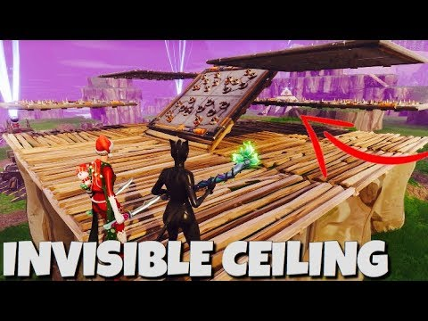 *NEW* INVISIBLE Ceiling Trap GLITCH !! *Tutorial For Noobs* Fortnite Save The World
