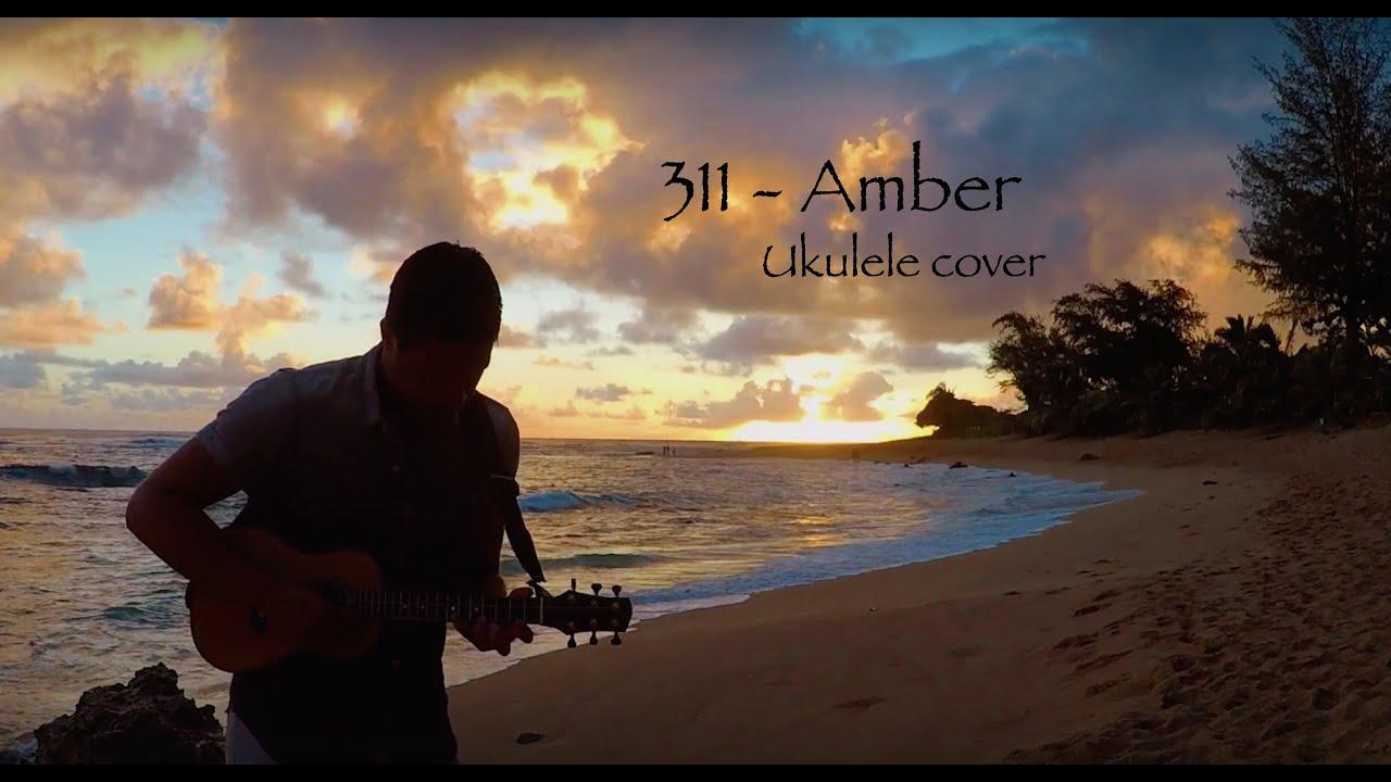311 amber ukulele cover david fertello youtube hexwebz Choice Image