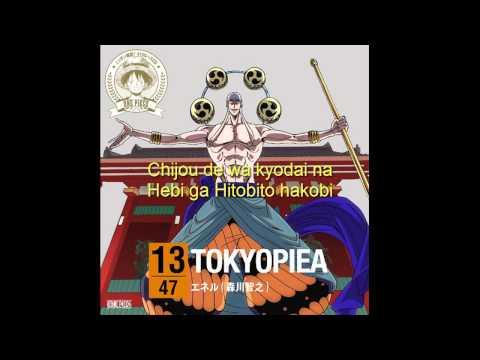Enel (Toshiyuki Morikawa) - TOKYOPIEA (Lyrics) (Sub. español)