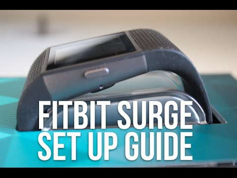 how to set up your fitbit