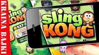 SLING KONG ️ GRA ZRĘCZNOŚCIOWA NA TELEFON DLA DZIECI  GRAJ Z NAMI