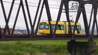 路面電車が急行で爆走!福井鉄道 急行通過集