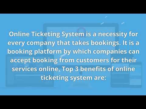Top 3 Advantages of Online Tickets and Online Ticketing System