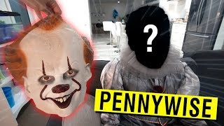 WE FINALLY UNMASKED PENNYWISE AT 3 AM!! (IT HAPPENED AGAIN)