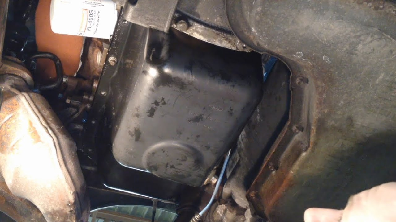 Ford Taurus 3.0L 12v Oil Pan Gasket Replacement - YouTube