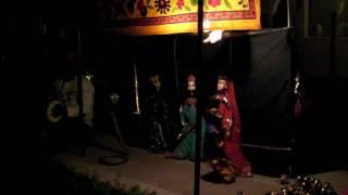 Jaipur India Puppeteer - Snake Charmer Scene