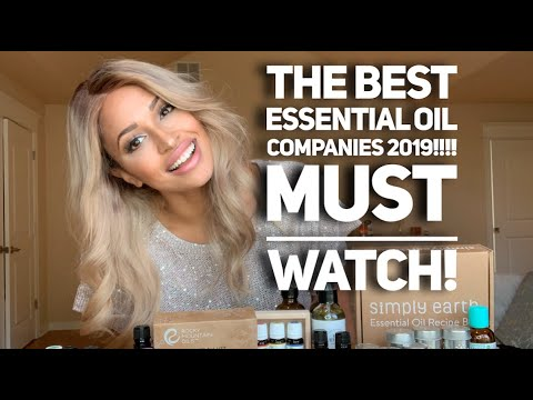 BEST Essential Oil Companies 2018/19 UPDATE ON THE BEST ESSENTIAL OILS!