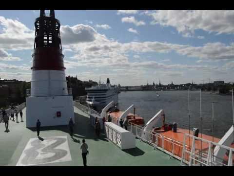 Viking Line  cruise Helsinki - Stockholm رحلة بحرية من هلسنكي الى ستوكهولم