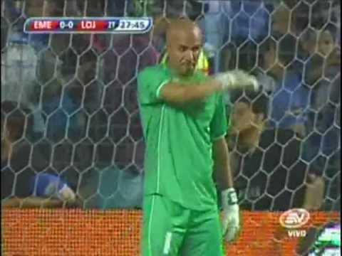 Emelec 2-0 Liga de Loja 01/04/2012 (Tomado de Ecuavisa)