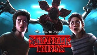 Dead by Daylight I STRANGER THINGS PTB - Steve, Nancy, Demogorgon i nowa mapa!