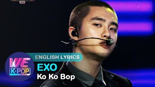 EXO(엑소) - Ko Ko Bop [The 2017 KBS Song Festival / ENG / 2017.12.29]